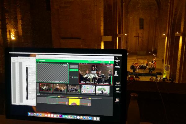 Remote Production Cloud Live Music Concert