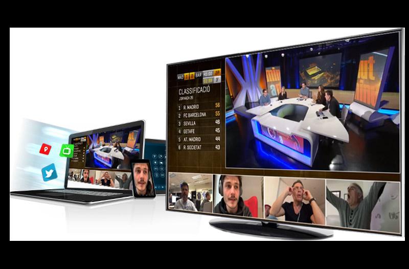Diffusion de sports de qualité et production multi-caméra événement en direct
