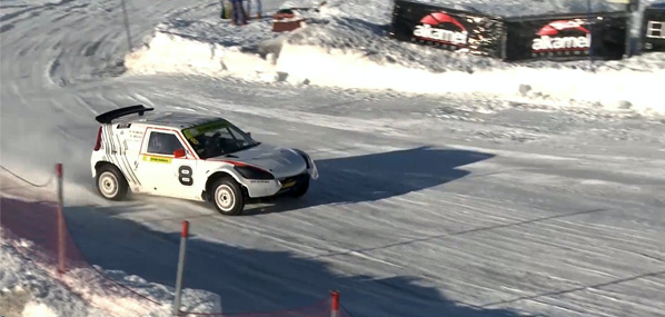Live Sport Broadcast and Streaming - Remote Production Snow Rally