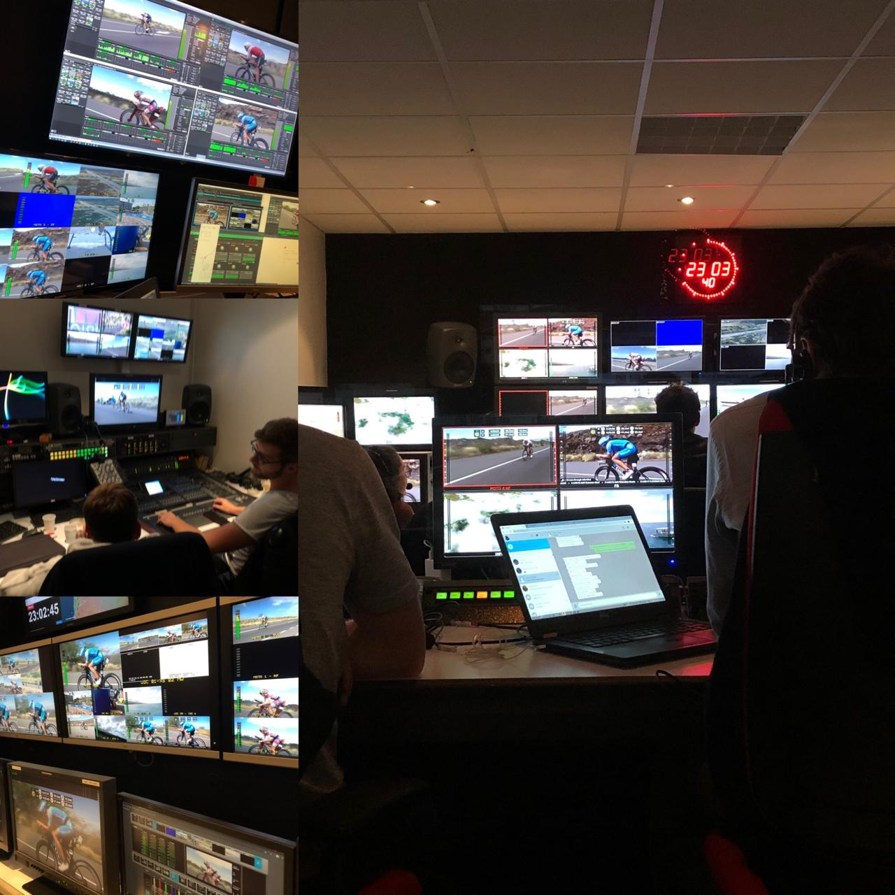 AMP Visual TV remotely produce Ironman finals over public internet with TVU solutions