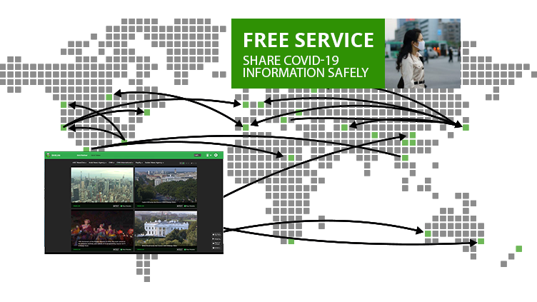Free News Pool Feed access over IP during COVID-19 spread - TVU Grid