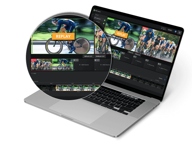 cloud production live streaming and broadcast - remote production platform