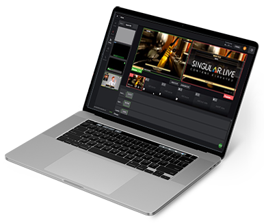 Live Cloud Production - Add graphics overlays remotely to your live video streaming