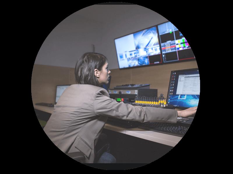 Diseñado para la producción remota de video en vivo y la producción de eventos virtuales