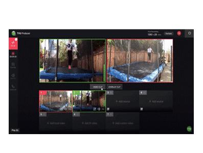 Producción en vivo en la nube - Sincronice las fuentes de vídeo en directo desde teléfonos y cámaras de forma remota