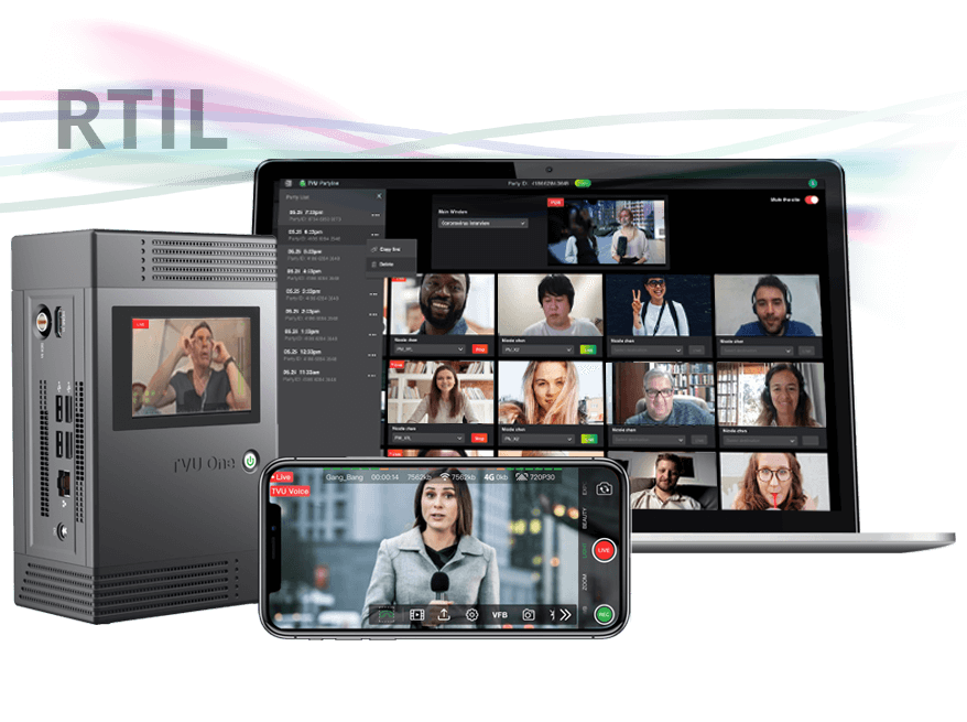 Real time audience participation - online video collaboration tool and conferencing