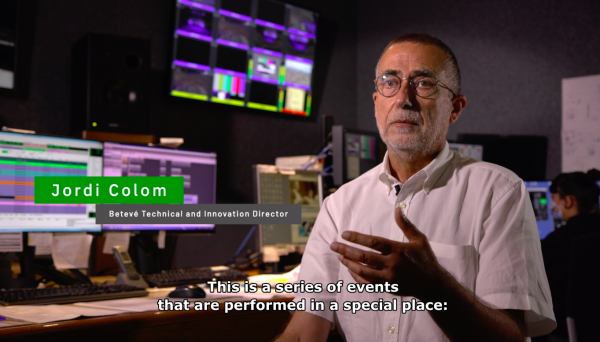TVU RPS - Remote Production of Fesitval Grec - Jordi Colom
