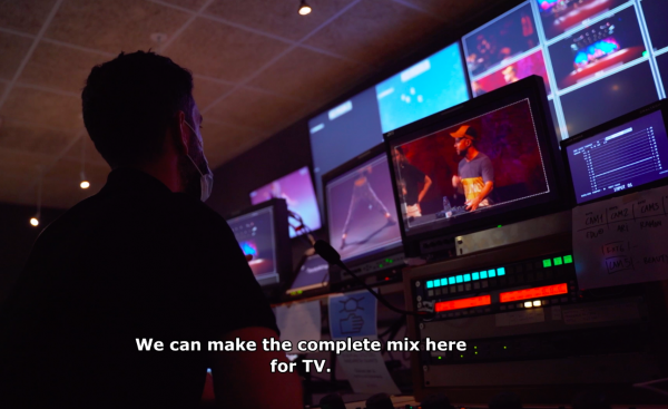 TVU RPS Remote Production System - frame accurate, multi-channel production over public internet - Festival Grec
