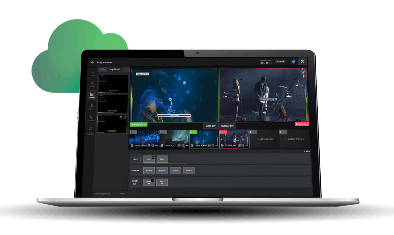 Live Cloud Production - Remote Video Production and multi-camera live streaming