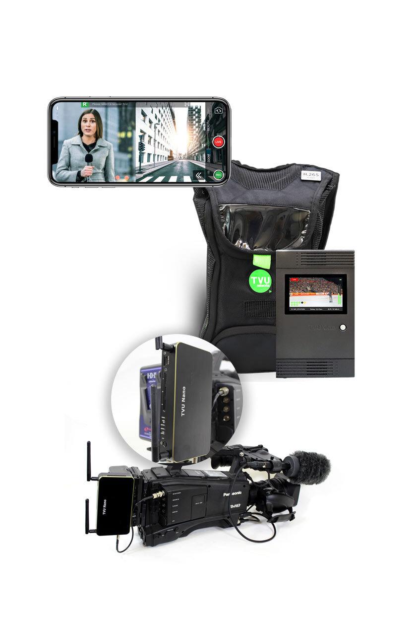 Transmissor de vídeo ao vivo para transmissão em direto ao longo do ip