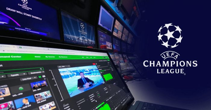 UEFA uses TVU remote production and live streaming solutions