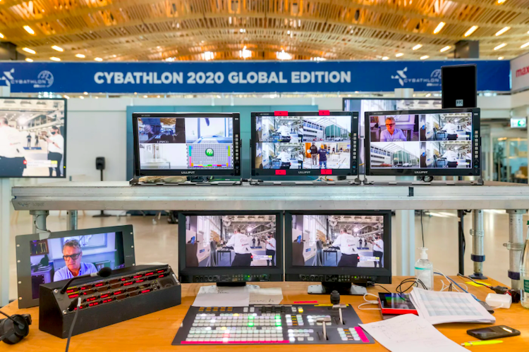 Cybathlon 2020 Goes Virtual, Coordinating Live Team Competition from 20 Countries with TVU Networks