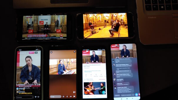 Radio 3 (RTVE) relies on 5G and Cloud production for streaming multi-camera live concerts