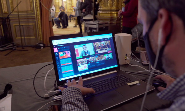 Cloud-Based TVU Producer and 5G transmitters, RTVE Produced and Distributed A Musical Event of Radio 3