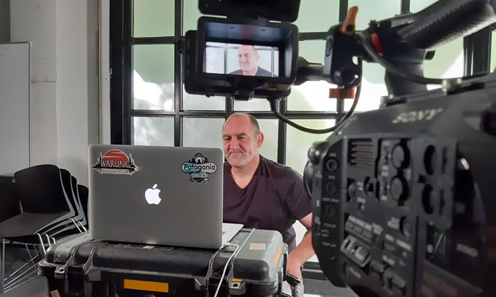 Remote Production at home studio - Rugby World Cup 2023 Coaches