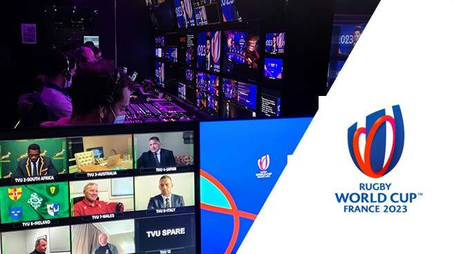 Live Broadcast and Remote Production Rugby World Cup